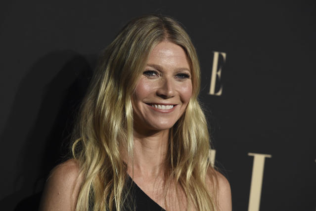 Gwyneth Paltrow at the 26th annual ELLE Women in Hollywood Celebration in Los Angeles in 2019. (Jordan Strauss/Invision/AP)