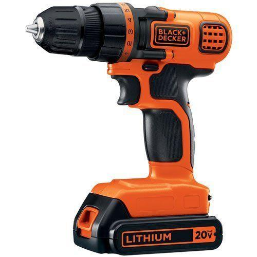 """<p><strong>BLACK+DECKER</strong></p><p>amazon.com</p><p><strong>$38.51</strong></p><p><a href=""""https://www.amazon.com/dp/B005NNF0YU?tag=syn-yahoo-20&ascsubtag=%5Bartid%7C2139.g.36132587%5Bsrc%7Cyahoo-us"""" rel=""""nofollow noopener"""" target=""""_blank"""" data-ylk=""""slk:BUY IT HERE"""" class=""""link rapid-noclick-resp"""">BUY IT HERE</a></p><p>If you're still using a drill with cord, take this sale as a sign to upgrade. It makes any home project much easier, and for under $40, this top-rated Black+Decker drill is a steal. </p>"""