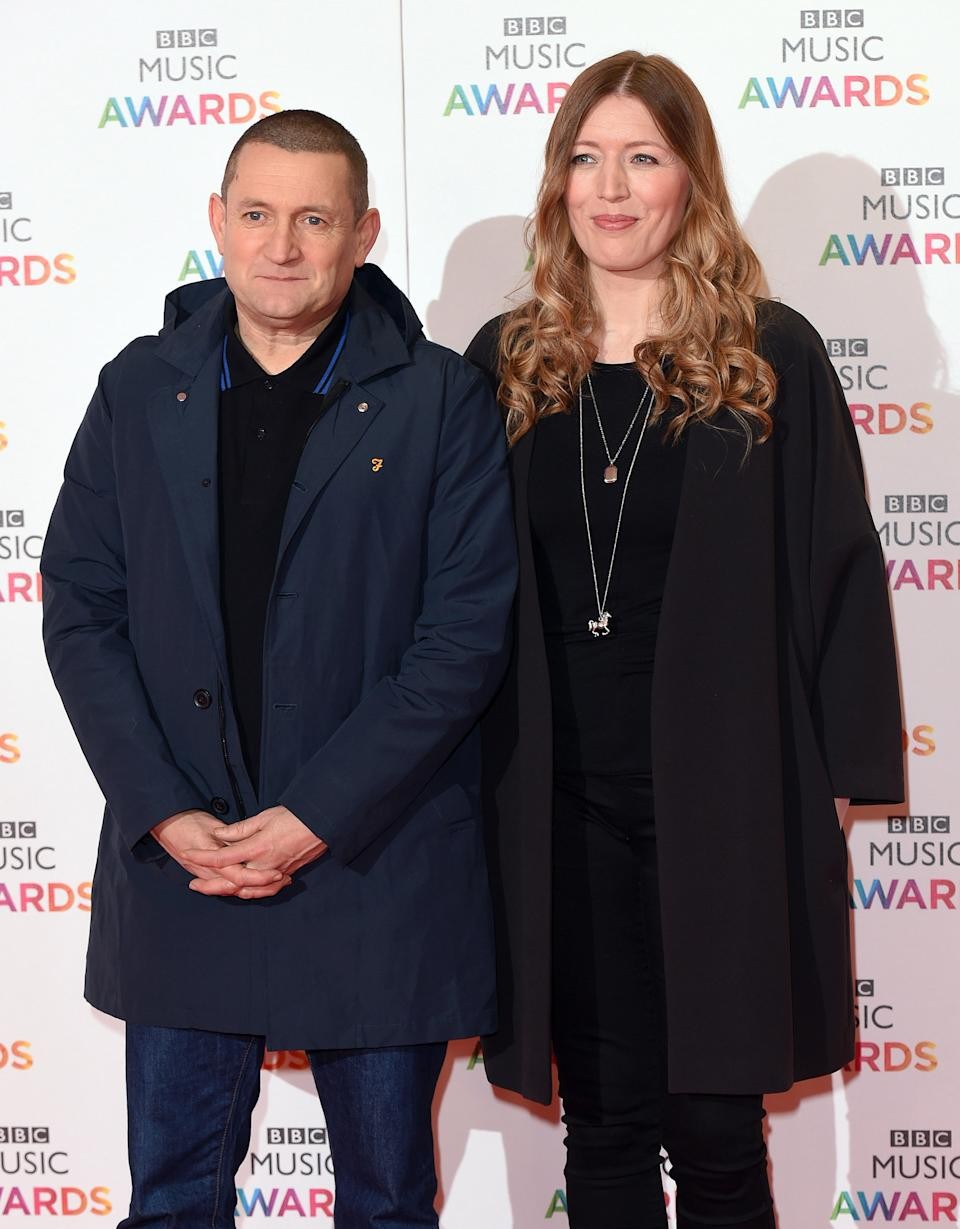 BIRMINGHAM, ENGLAND - DECEMBER 10: Paul Heaton and Jacqui Abbott attend the BBC Music Awards at Genting Arena on December 10, 2015 in Birmingham, England. (Photo by Karwai Tang/WireImage)