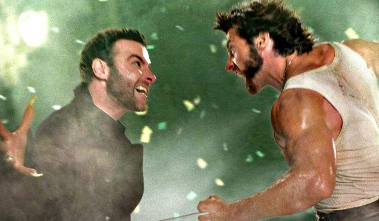 Logan and Sabretooth go at it - Credit: 20th Century Fox
