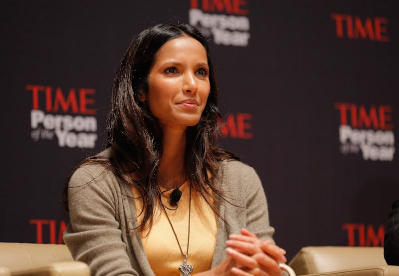 NEW YORK, NY - NOVEMBER 13:  Padma Lakshmi attends TIME's Person of the Year panel on November 13, 2012 in New York City.  (Photo by Jemal Countess/Getty Images for TIME)