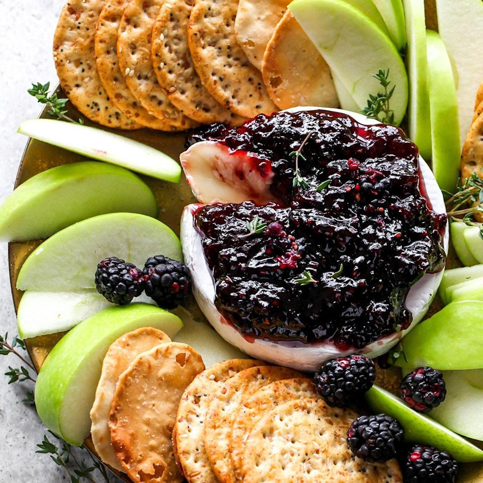 <p>Baked Brie is a classic, crowd-pleasing party appetizer, whether it's wrapped up in a pastry, in bite-size form or covered in a fruity jam, like in this recipe. In this easy 3-ingredient appetizer, we top a wheel of Brie with blackberry jam, bake for 10 minutes and serve with crisp apple slices (or crackers). It's so simple yet so delicious, you'll wonder why you don't make it more often!</p>