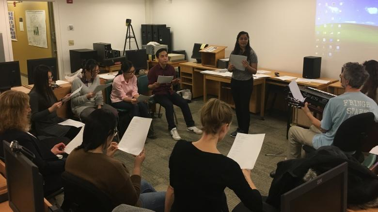 'Making a beautiful sound together': UPEI's multicultural choir is really a psychology experiment