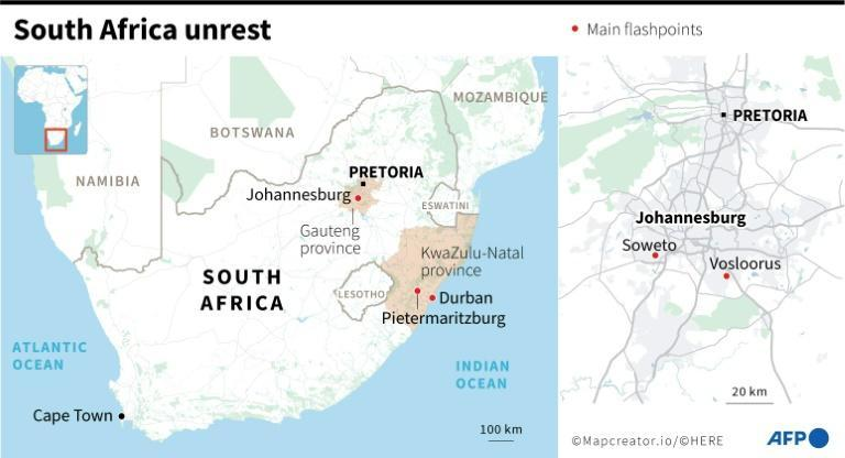 Unrest in South Africa