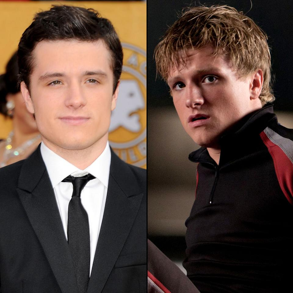 "While the Tributes from the poor District 12 don't have the lavish clothes as those in the Capitol, but the actors who played them still had to change their appearance. Josh Hutcherson, who plays Peeta Mellark, put on 15 pounds for the role. He told People Magazine, ""I had to eat two chicken breasts and two handfuls of broccoli five times a day."" Plus, an early attempt to lighten his hair caused it to turn ""orange and then this weird green."""