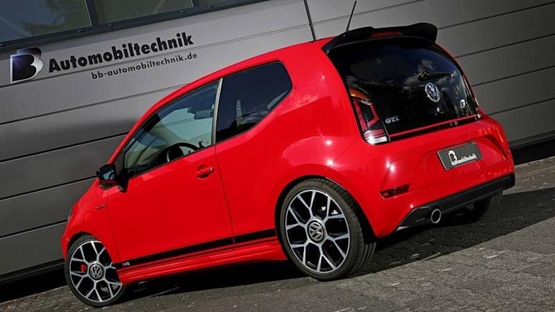 Vw Up Gti >> Vw Up Gti Gets 145 Horsepower Thanks To Tuner