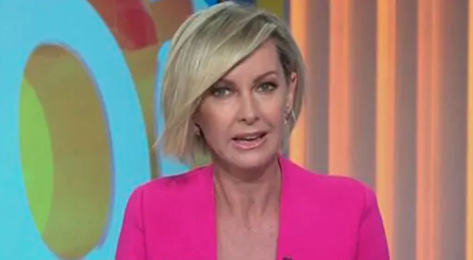 Deb Knight in pink jacket on the Today show on Channel Nine