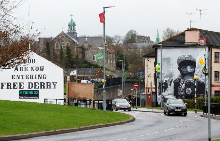 Londonderry, also known as Derry, was a flashpoint city in decades of sectarian violence in Northern Ireland