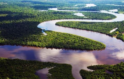 Nanay River, Peru, tributary of the Amazon - Credit: Getty