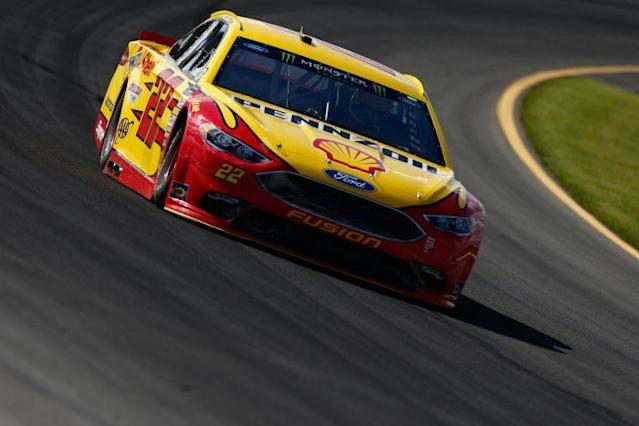 "<a class=""link rapid-noclick-resp"" href=""/nascar/sprint/drivers/1542/"" data-ylk=""slk:Joey Logano"">Joey Logano</a> has a win but it doesn't count for NASCAR's playoffs. (Getty)"