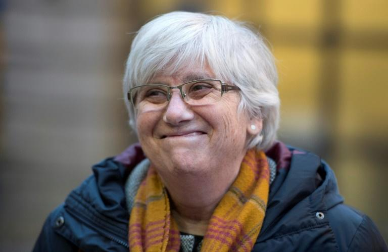 Former Catalan minister Clara Ponsati is counting on immunity once she becomes a MEP from Spain thanks to Brexit