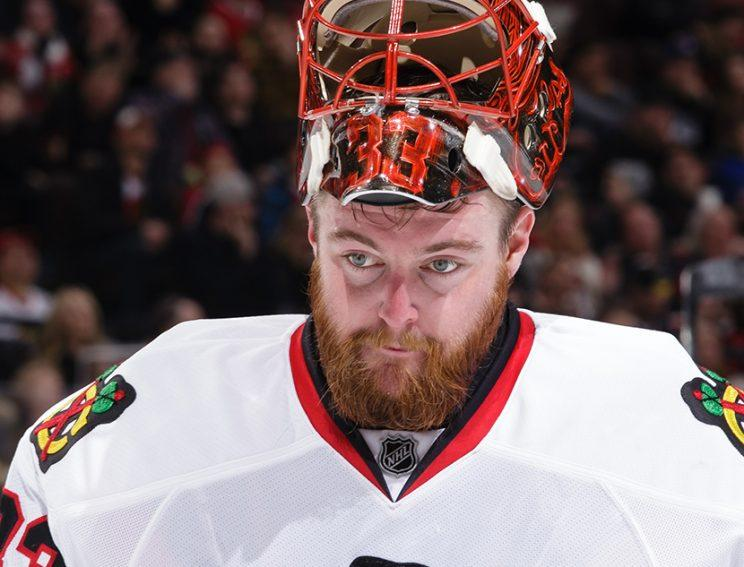 Canes, goalie Scott Darling agree to 4-year, $16.6M deal