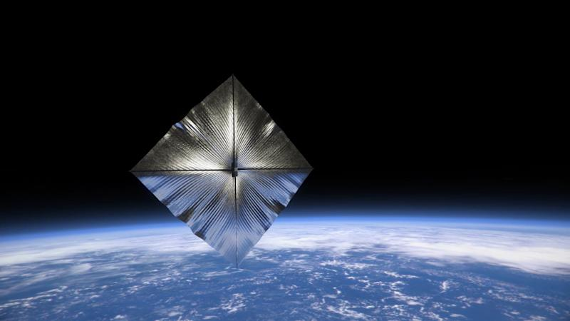ACS3 solar sail deployed - NASA