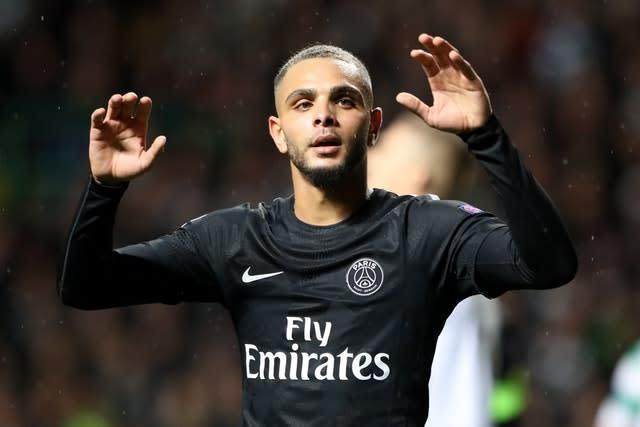 Layvin Kurzawa could be heading to the Premier League (Andrew Milligan/PA)