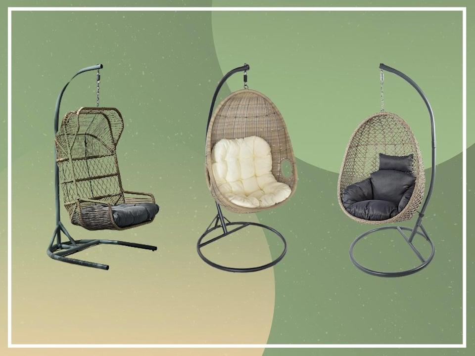 From all-the-rage rattan to chic wooden models, there's an oeuf for every kind of outdoor area (iStock/The Independent)