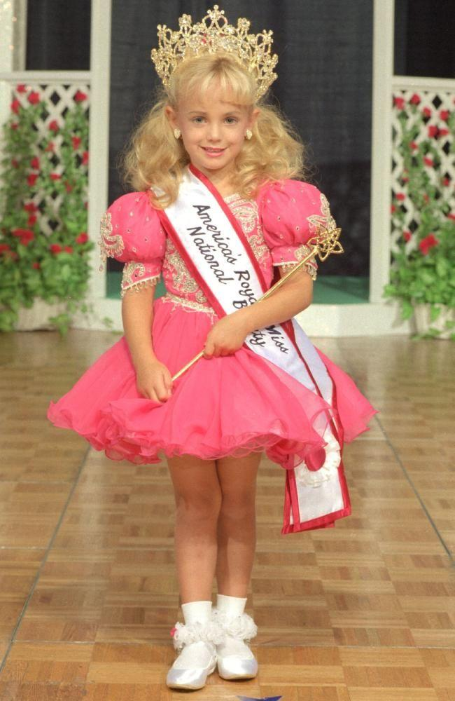 JonBenet Ramsey's bludgeoned and strangled body was found by by her father in the basement of their Boulder, Colorado home on December 26, 1996. Photo: Supplied