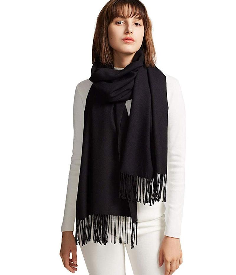 MaaMgic Large Soft Cashmere-Like Wrap Scarf (Photo: Amazon)