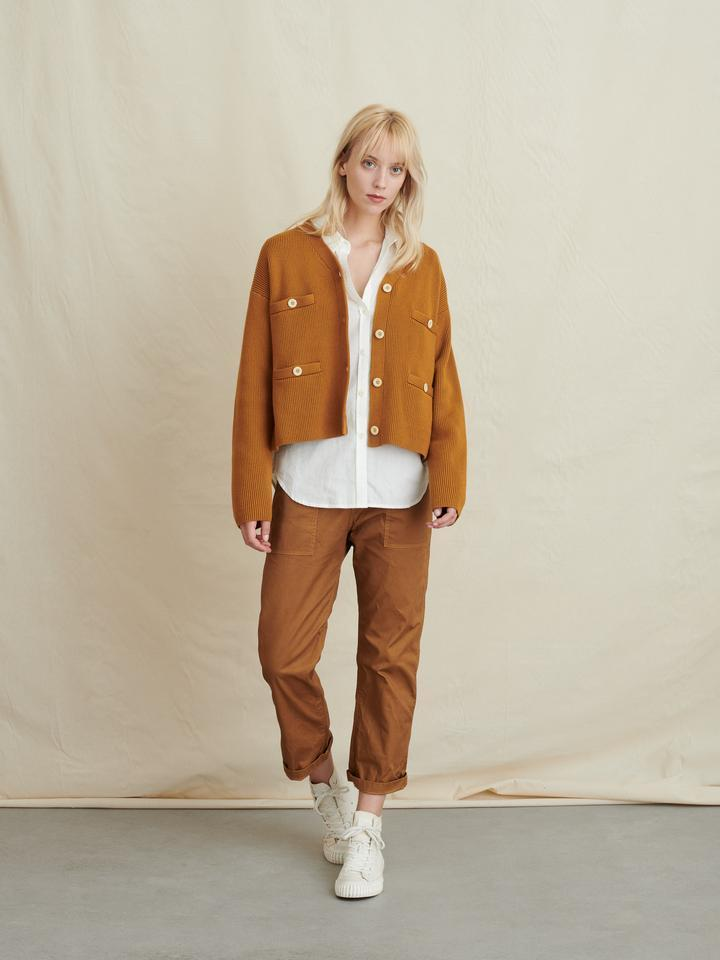 """<h2>The Coatigan</h2><br>It's not <em>entirely</em> a coat, but not exactly a cardigan either. Meet <a href=""""https://www.refinery29.com/en-us/oversized-cardigan-coat-coatigan"""" rel=""""nofollow noopener"""" target=""""_blank"""" data-ylk=""""slk:the coatigan"""" class=""""link rapid-noclick-resp"""">the coatigan</a>: a garment designed for the in-between, when it's too soon for your trusty <a href=""""https://www.refinery29.com/en-us/women-puffer-jacket"""" rel=""""nofollow noopener"""" target=""""_blank"""" data-ylk=""""slk:puffer jacket"""" class=""""link rapid-noclick-resp"""">puffer jacket</a> but an <a href=""""https://www.refinery29.com/en-us/oversized-scarf"""" rel=""""nofollow noopener"""" target=""""_blank"""" data-ylk=""""slk:oversized scarf"""" class=""""link rapid-noclick-resp"""">oversized scarf</a> is no longer enough to do the trick.<br><br><br><strong>Alex Mill</strong> Jo Ribbed Cardigan, $, available at <a href=""""https://go.skimresources.com/?id=30283X879131&url=https%3A%2F%2Fwww.alexmill.com%2Fcollections%2Fwomens-cardigan-sweaters%2Fproducts%2Fcardigan-sweater-in-ribbed-cotton-in-caramel"""" rel=""""nofollow noopener"""" target=""""_blank"""" data-ylk=""""slk:Alex Mill"""" class=""""link rapid-noclick-resp"""">Alex Mill</a>"""