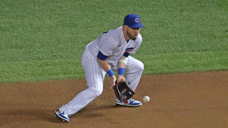 Cubs' Jason Kipnis becomes Gold Glove first baseman with mitt alteration
