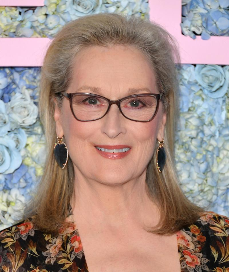 """Meryl Streep Doesn't Agree With the Term """"Toxic Masculinity"""""""