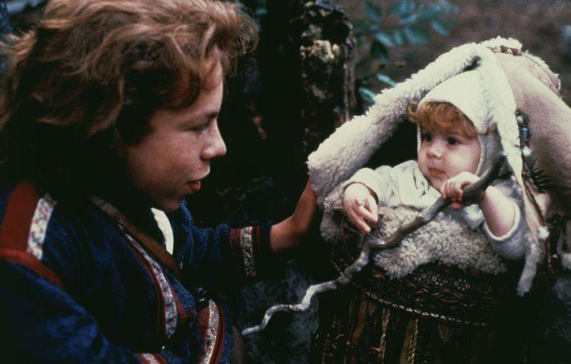 Rebecca Bearman shared the role of Elora Danan in 'Willow' at the age of 10 months. Lucasfilm/Kobal/REX/Shutterstock