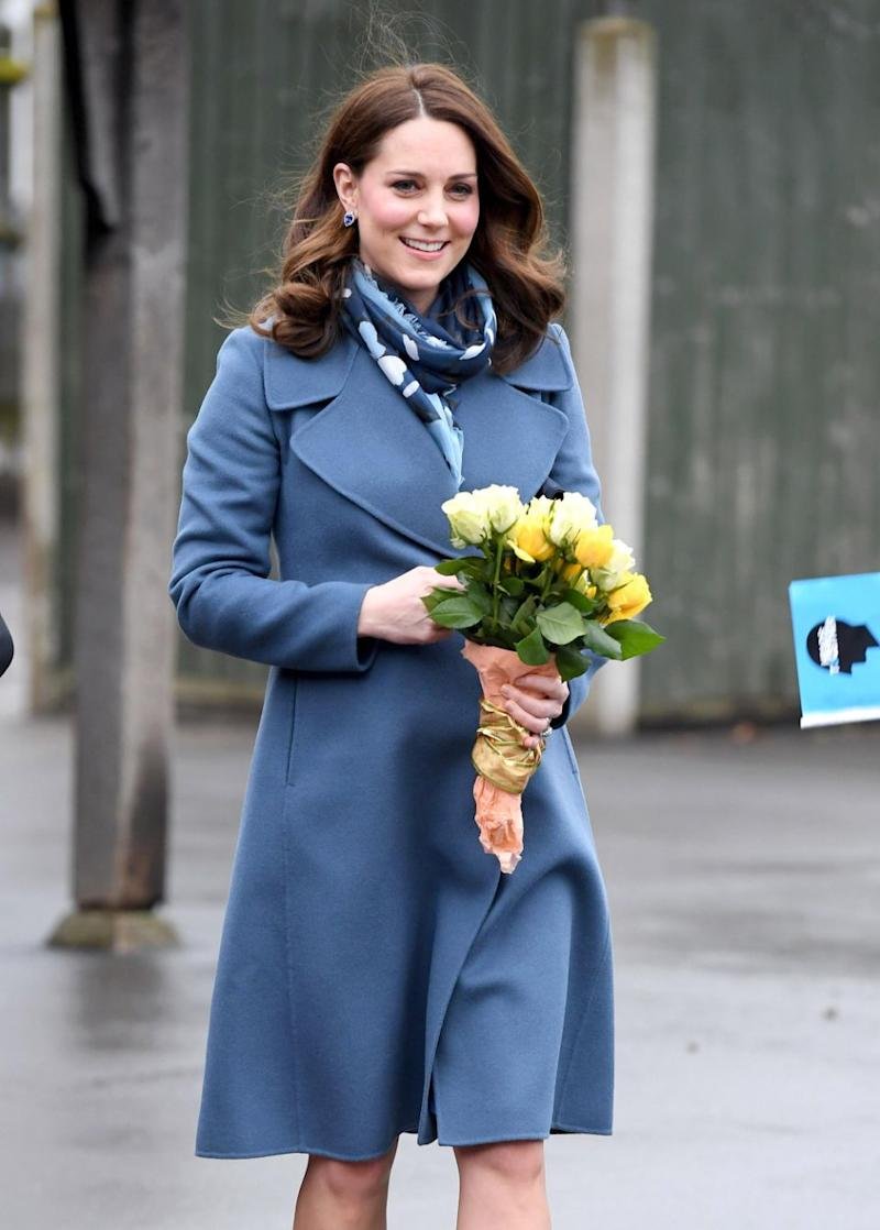 Kate Middleton lopped off six inches of her hair and gave it to charity. Source: Getty