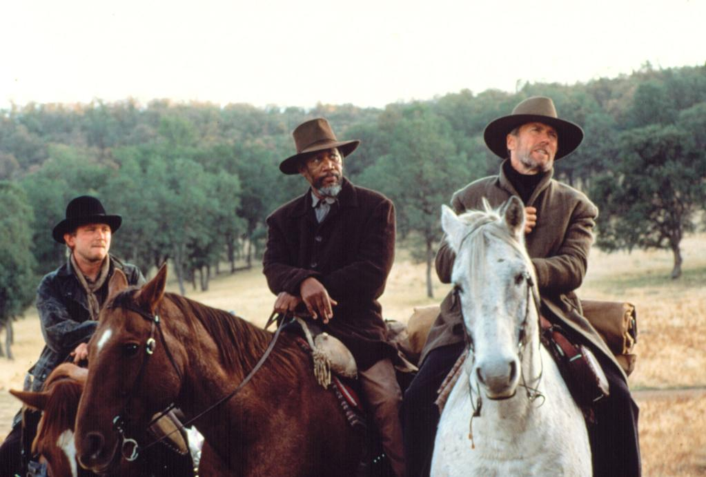 """<a href=""""http://movies.yahoo.com/movie/1800182364/info"""">Unforgiven</a> (1992), with Eastwood as a retired gunslinger taking on one last job: I loved the """"Unforgiven"""" script. You had to get a ways into it before you knew who was the protagonist and who was the antagonist. Even the villains, with the exceptions of the renegade cowboys, had good points to their character, and had dreams. Little Bill (played by <a href=""""http://movies.yahoo.com/movie/contributor/1800015469"""">Gene Hackman</a>) just wanted a peaceful life. He believed he was doing the right thing. The film dealt with issues -- gun control, and the struggles people have """"within."""" The hero went against instinct. It was a very rich story, involving loyalty to friends, family and rationalizing deeds. It was a very intelligent script."""