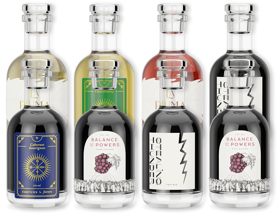 "<h2>In Good Taste</h2><br><strong>What You Get</strong><br>Handpicked tasting flights from a variety of backgrounds and cultures through single-glass bottles. ""Fill up your passport with each pop of a cork.""<br><br><strong>What You Commit To</strong><br>No commitment; you can order at any time, from anywhere. <br><br><strong>What You Pay</strong><br>Anywhere from $65 to $100 depending on size and region. <br><br><em>Visit<strong> <a href=""https://ingoodtaste.com/pages/our-wines"" rel=""nofollow noopener"" target=""_blank"" data-ylk=""slk:In Good Taste"" class=""link rapid-noclick-resp"">In Good Taste</a></strong></em><br><br><strong>In Good Taste</strong> 8 California Coastal Wines, $, available at <a href=""https://go.skimresources.com/?id=30283X879131&url=https%3A%2F%2Fingoodtaste.com%2Fproducts%2Fvariety-pack"" rel=""nofollow noopener"" target=""_blank"" data-ylk=""slk:In Good Taste"" class=""link rapid-noclick-resp"">In Good Taste</a>"
