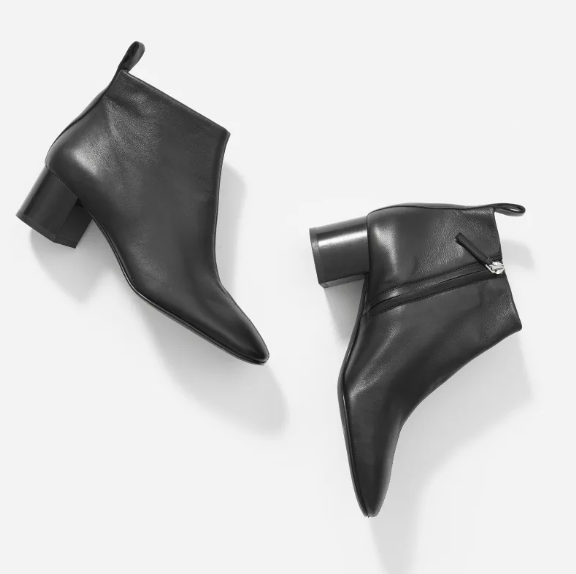 The Day Boot in Black. Image via Everlane.