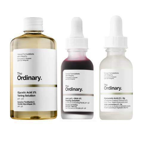 """<p><strong>THE ORDINARY</strong></p><p>amazon.com</p><p><strong>$37.95</strong></p><p><a href=""""https://www.amazon.com/dp/B07QBGW1PD?tag=syn-yahoo-20&ascsubtag=%5Bartid%7C10051.g.36742284%5Bsrc%7Cyahoo-us"""" rel=""""nofollow noopener"""" target=""""_blank"""" data-ylk=""""slk:Shop Now"""" class=""""link rapid-noclick-resp"""">Shop Now</a></p><p>If you're not on The Ordinary hype train yet this collection of its best-selling facial peels, including its popular <a href=""""https://www.cosmopolitan.com/style-beauty/beauty/a32301344/the-ordinary-aha-bha-peeling-solution-review-for-2020/"""" rel=""""nofollow noopener"""" target=""""_blank"""" data-ylk=""""slk:AHA 30% + BHA 2% Peeling Solution"""" class=""""link rapid-noclick-resp"""">AHA 30% + BHA 2% Peeling Solution</a>, is a great place to start. </p>"""