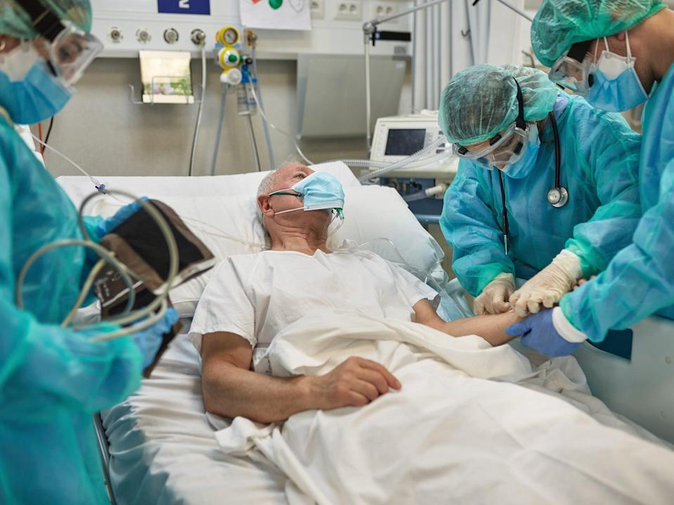 <p>Hospital patients have been harmed by overdoses of paracetamol</p> (Getty Images)