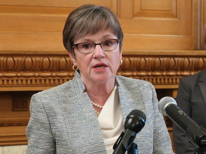 Kansas Gov. Laura Kelly.