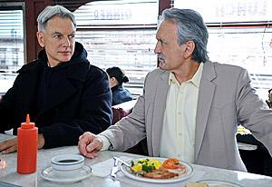 Mark Harmon and Muse Watson, NCIS | Photo Credits: Richard Foreman/CBS