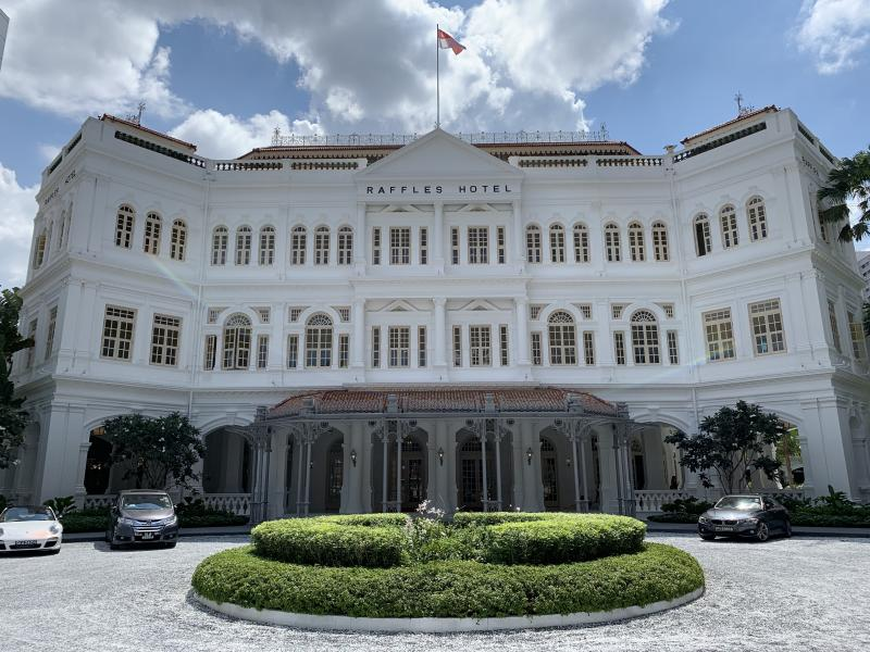 Raffles Hotel on 11 July 2019. (PHOTO: Teng Yong Ping / Yahoo Lifestyle Singapore)