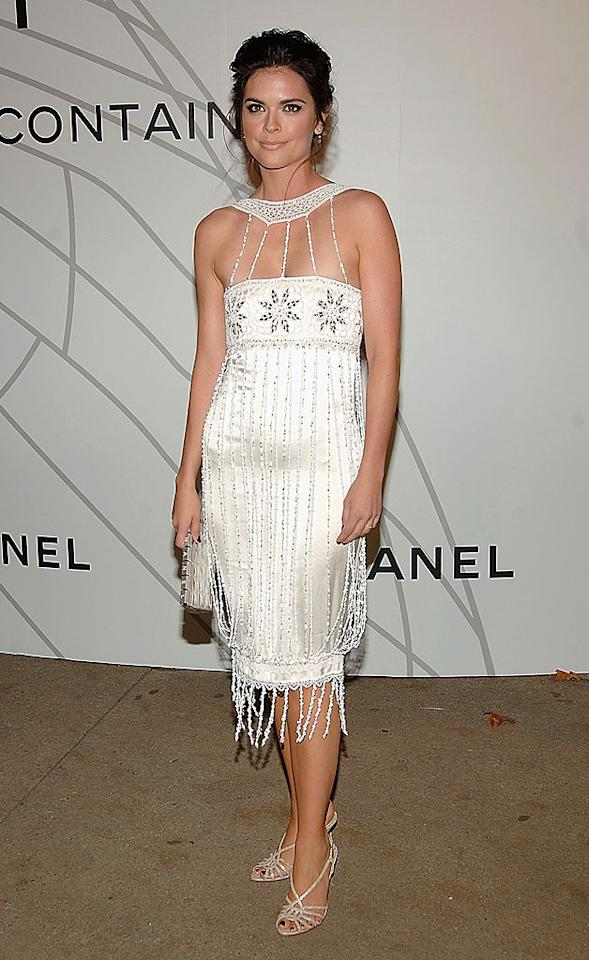 """Katie Lee Joel is dangerously close to having a wardrobe malfunction. Jamie McCarthy/<a href=""""http://www.wireimage.com"""" target=""""new"""">WireImage.com</a> - October 21, 2008"""