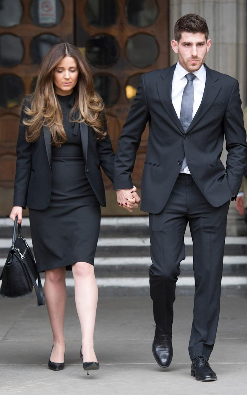 Ched Evans and his girlfriend Natasha Massey fought a long campaign to clear his name - Credit: Nick Edwards