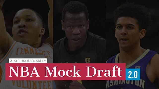 The NBA postseason is in full swing, but as some teams fight for their playoff lives, others have already turned their attention to the upcoming draft. Will they go boom or bust? Here's A. Sherrod Blakely's latest NBA Mock Draft.
