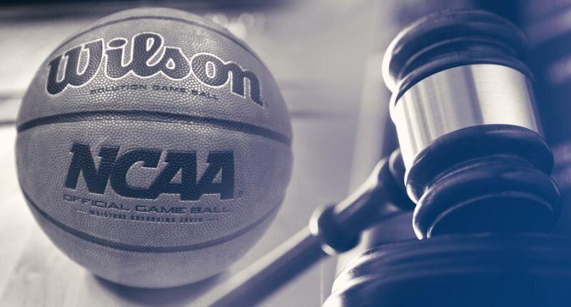 Will the NCAA be able to handle all of the investigations pertaining to the federal hoops corruption case? Time will tell. (Yahoo Sports illustration)