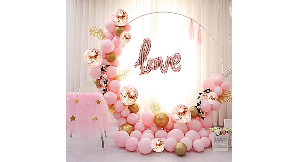 Valentine Balloon Arch Kit
