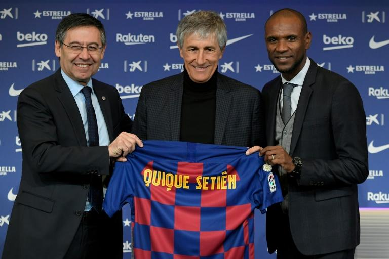 Barcelona axe sporting director Abidal as purge continues