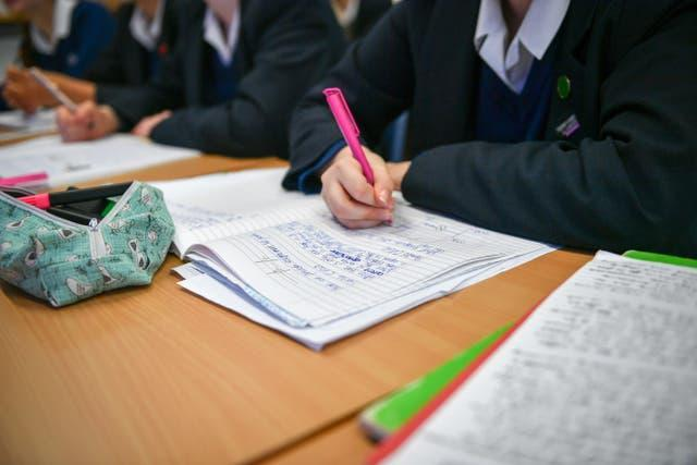 Getting children back behind their desks remains a priority