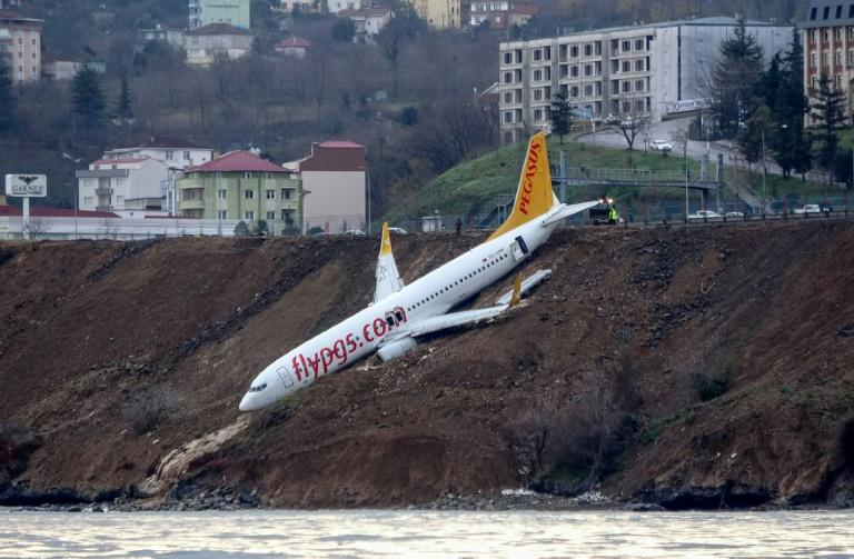 The Pegasus Airlines flight had taken off smoothly from the capital Ankara bound for Trabzon, where the accident occurred as the plane was landing late Saturday