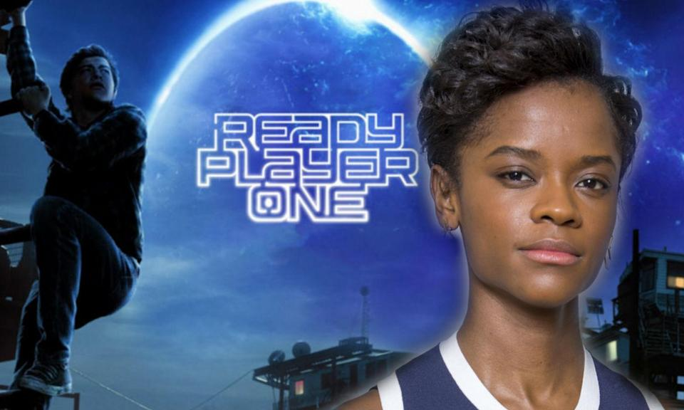 is Letitia Wright in 'Ready Player One'?y