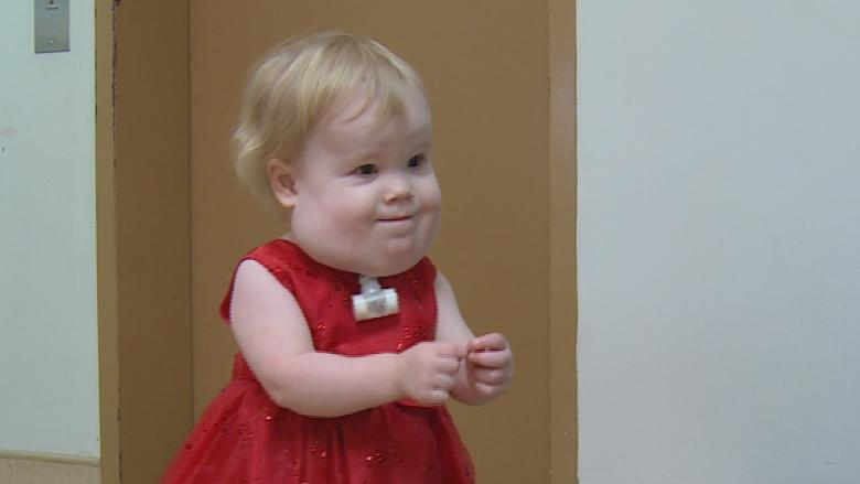 'She defies the odds': Manitoba toddler in hospital since birth is ready to move home
