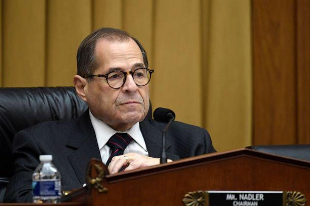 PHOTO: House Judiciary Committee Chairman Jerrold Nadler, D-N.Y., listens during a hearing on Capitol Hill, Oct. 22, 2019, on election security. (Susan Walsh/AP)