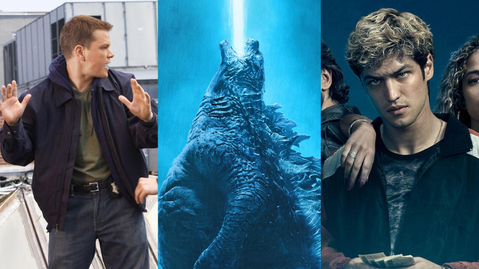 'The Departed'. 'Godzilla: King of the Monsters' and 'DOM' are all coming to Amazon Prime Video in June 2021. (Warner Bros/Amazon)