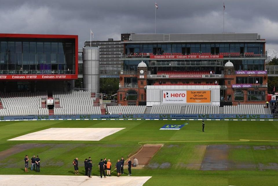 Old Trafford will see no conclusion to the England-India series after a Covid outbreak in the tourists' camp  (Getty Images)