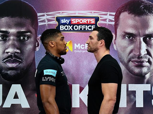 Anthony Joshua faces the toughest test of his career to date against Wladimir Klitschko: Getty