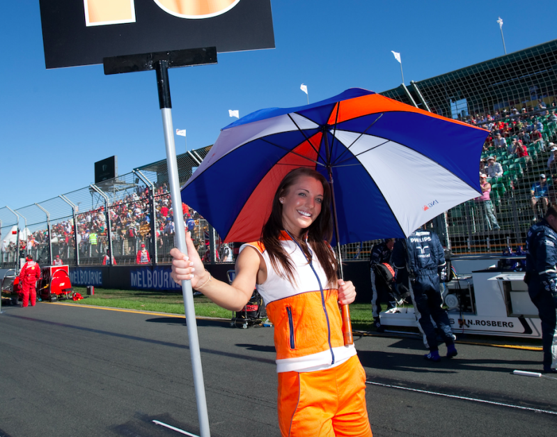 Grid girls scrapped from Formula One