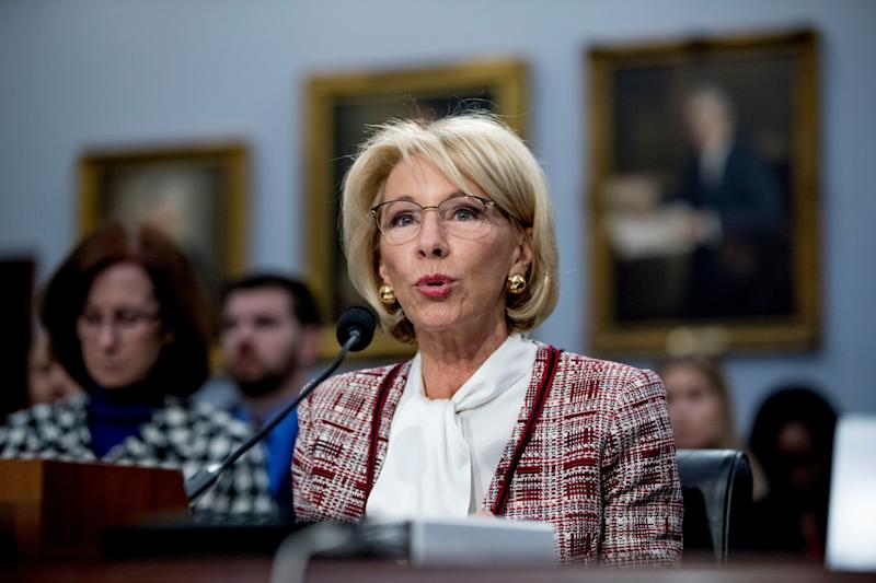 Betsy DeVos Won't Say Whether Schools Should Ban LGBTQ Discrimination